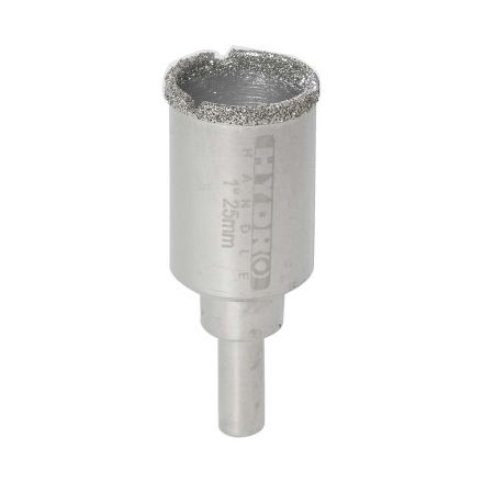 "HH1BIT 1"" Electroplated Diamond Bit 8 mm Shank"