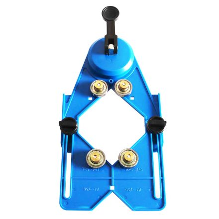 Hydro Handle HHDGUIDE Suction Cup / Drill Bit Hole Saw Guide Jig with Bearing